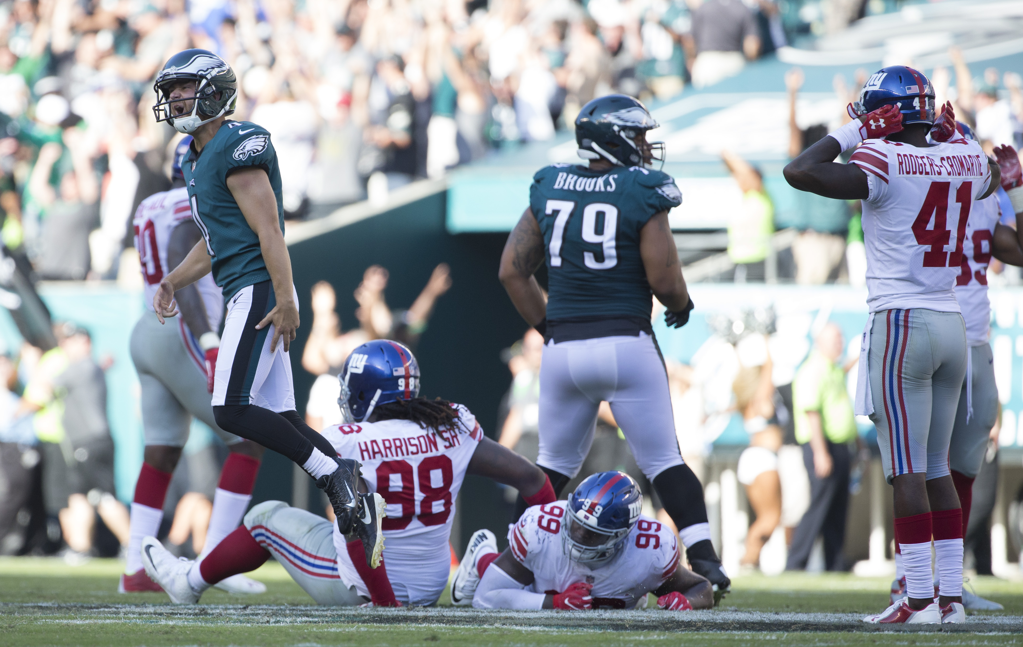 The Philadelphia Eagles may be just fine with Nick Foles at QB