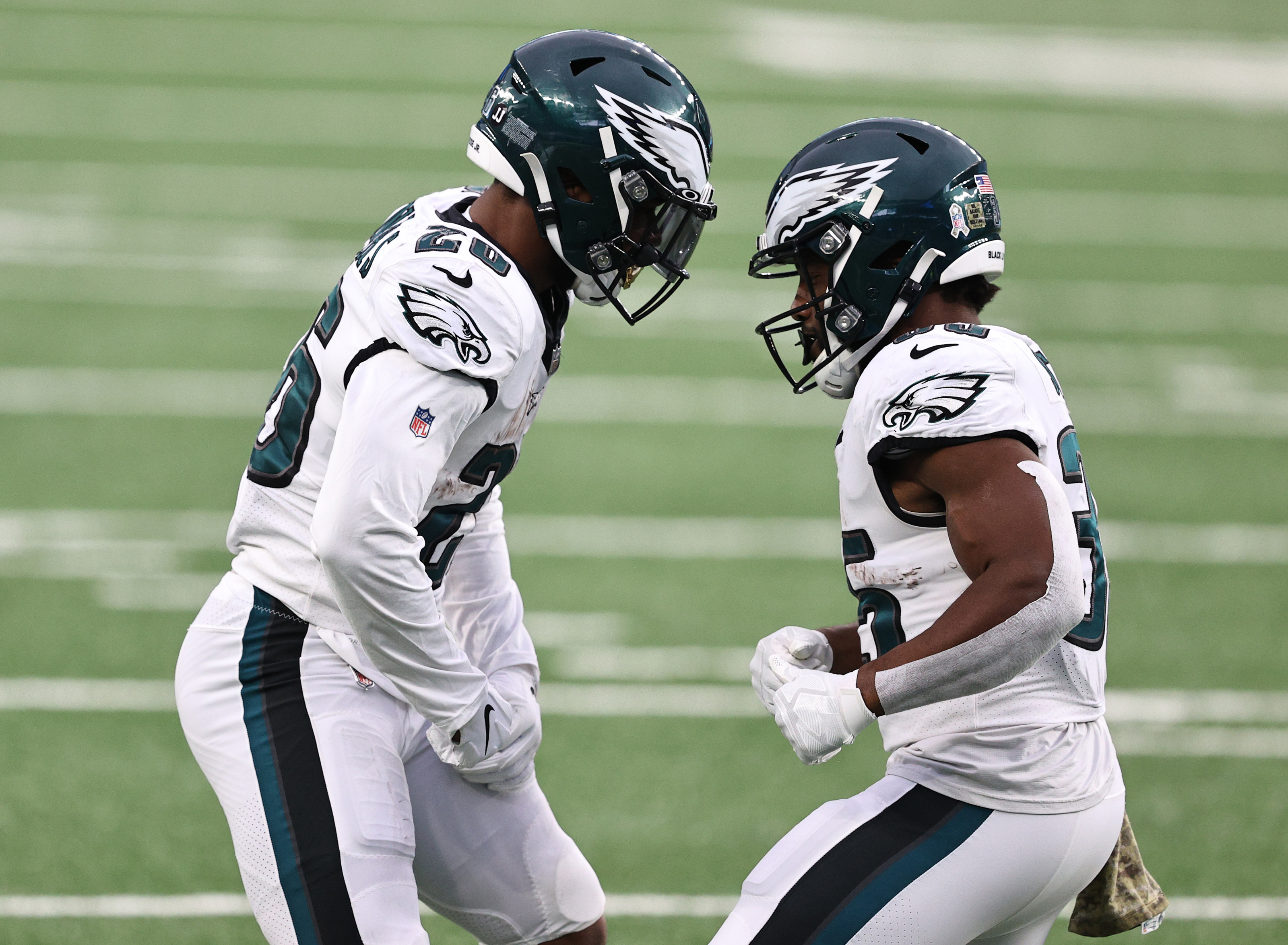Philadelphia Eagles have backed themselves into a corner at running back