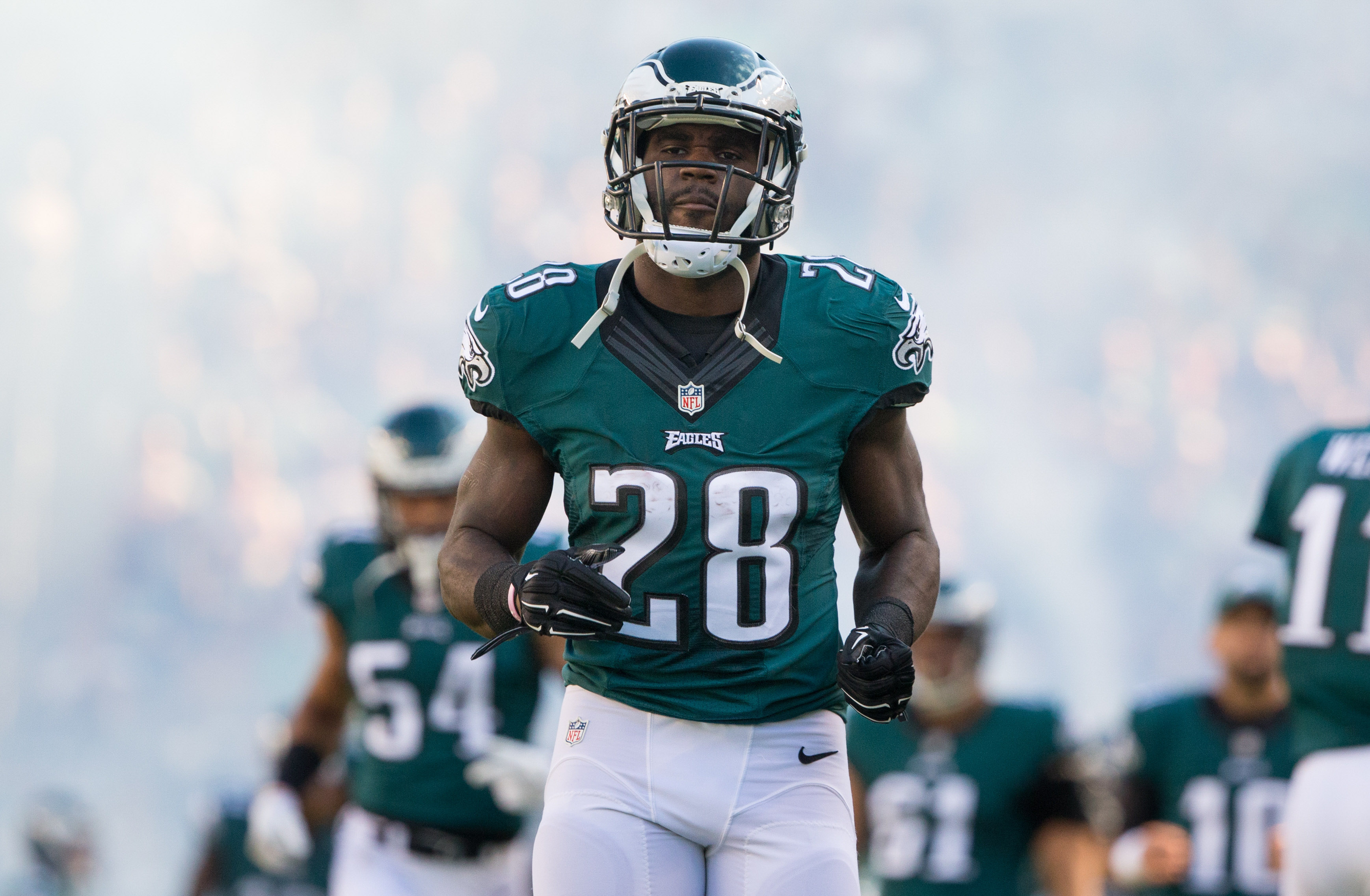 Wendell Smallwood isn't guaranteed a spot on Eagles' roster